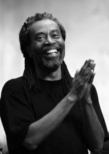 Renowned vocalist Bobby McFerrin will play in Goshen College's Sauder Hall next week. Photo courtesy of Public Relations.