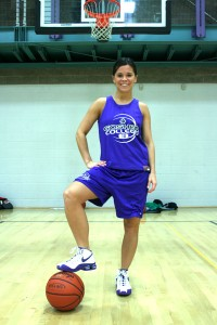 Maple Leaf basket-ball player Krystal Deunsing has developed exceptional leadership skills, but not without hardship.