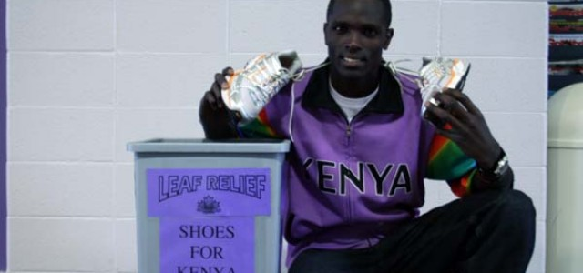 Athletic department collects shoes for Kenya