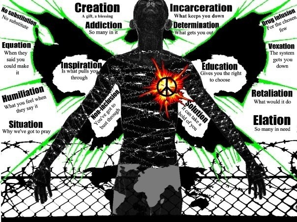 "Abi Tsigie's artwork entitled ""Vexation of Spirit"""
