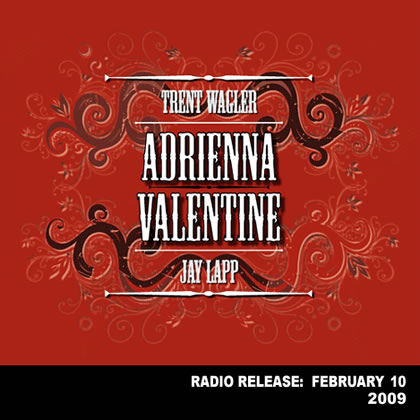 """Album cover for Trent Wagler and Jay Lapp's """"Adrienna Valentine"""""""