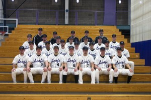 The Goshen College baseball team is revving up for their impending game at the Metrodome in Minneapolis.  Photo contributed by Public Relations.