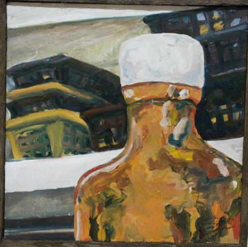 Carmen Myers' oil painting