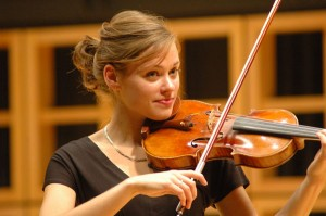 Leslee Smucker spent two weeks during the summer in Czech Republic studying violin.  Photo from Public Relations.
