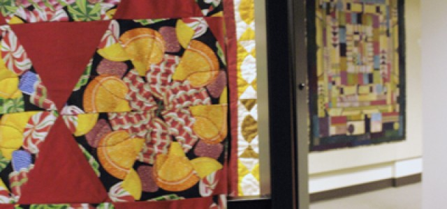 Curator stitches quilts 'full circle'