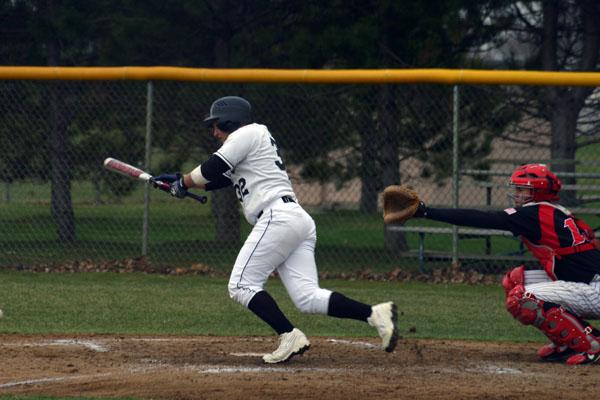 Goshen Baseball has had a rough season, but it isn't over yet.  Photo by Jordan Kauffman.