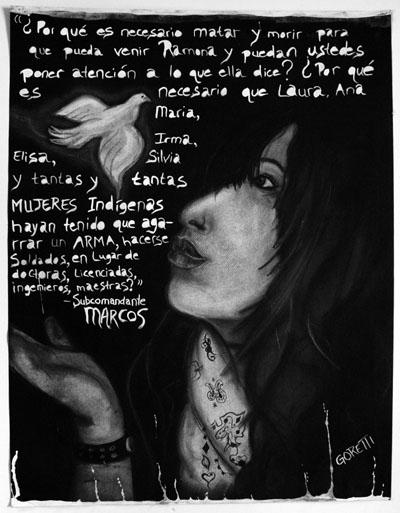 Daniela Hernandez's self-portrait