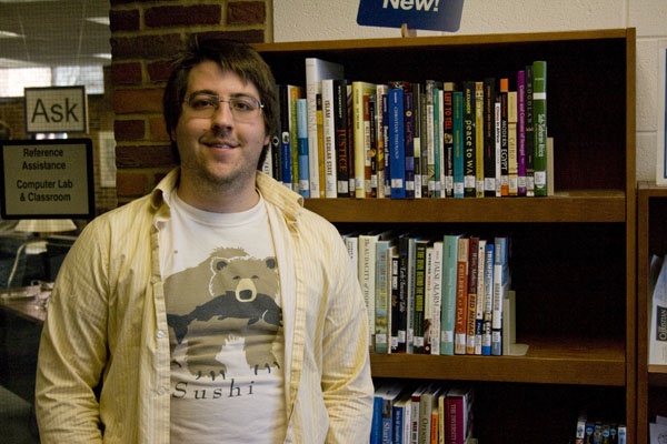 Photo of Ben Jackson in the Good Library