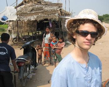 Sheldon Good in Cambodia