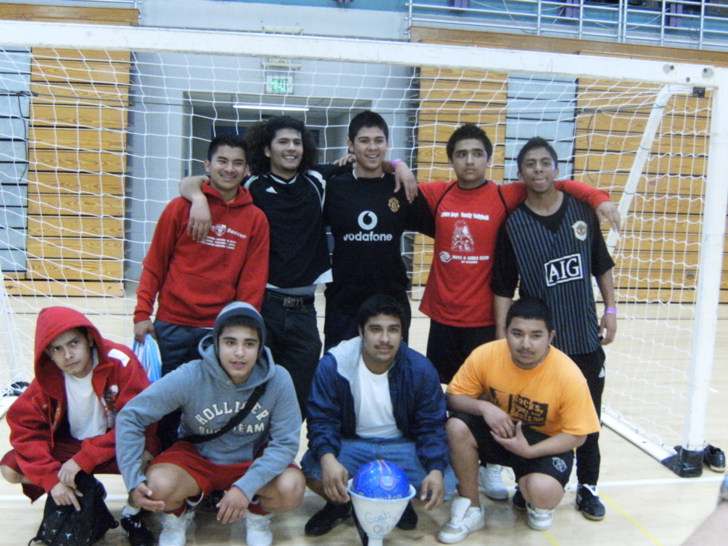 The CITL office hosted a soccer tournament at the Rec Fit recently. Photo by Moises Santos.