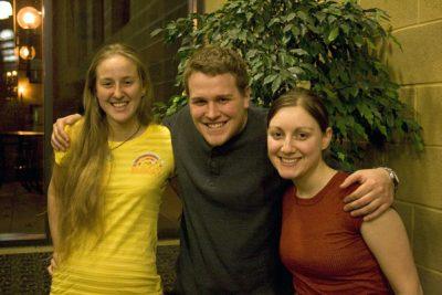 Heather Zimmerman with friends