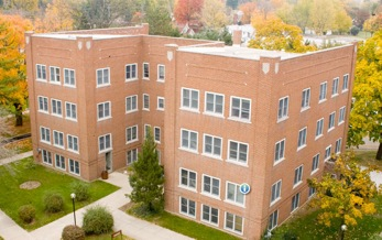 Coffman Hall is one of the residence areas being considered for homeless families.