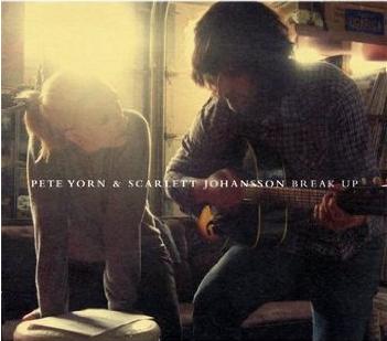 "Album cover of Pete Yorn and Scarlett Johansson's ""Break Up"""