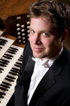 Organist Gregory Hand will perform in Reith Recital Hall on Saturday, September 27.  Photo provided by Public Relations.