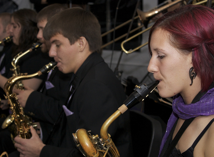 Adriel Santiago and Rachel Mast played with Lavender Jazz at Sing and Swing, which is usually considered an Hour After, though this year it was incorporated into October's First Friday events.