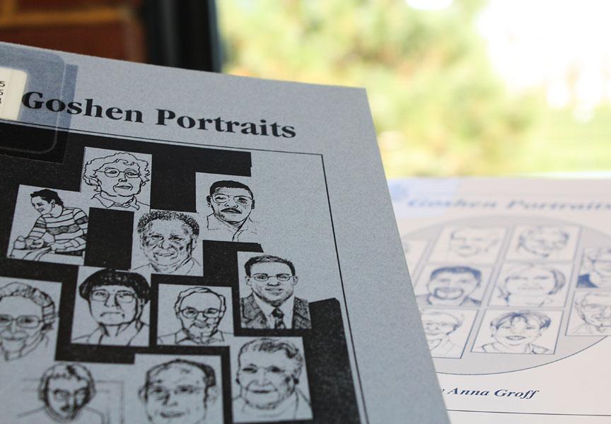 cover of goshen portraits book