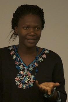 Sarah Kaweesa spoke