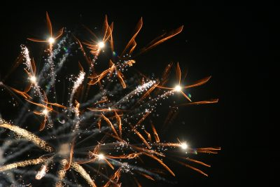 "Jordan Kauffman's photo entitled ""Alien Fireworks"""