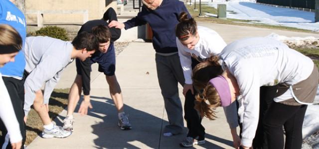 GC students running 1/2 marathon