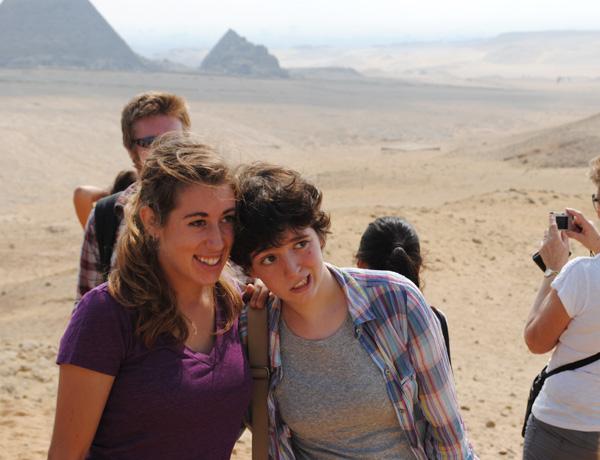 Elspeth in Egypt