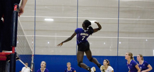 Volleyball defeats Saint Francis, improves conference record