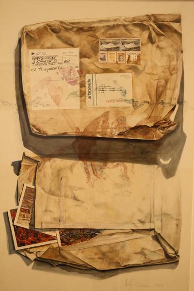 A piece from John Blosser's art show