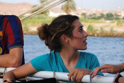 Nora Miller in Egypt