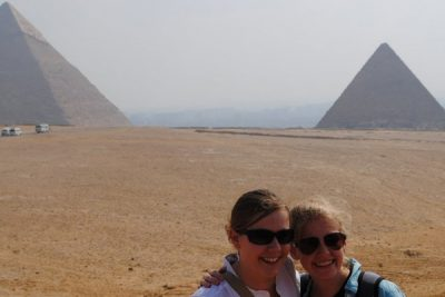 SSTers by Egyptian Pyramids