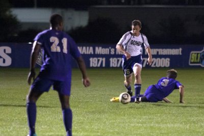 soccer in action