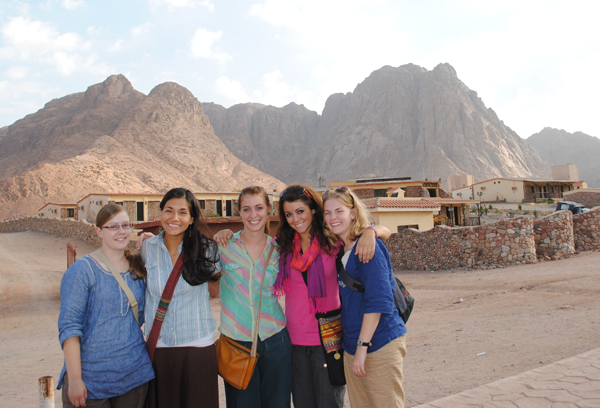 Hassan and other SSTers in Egypt