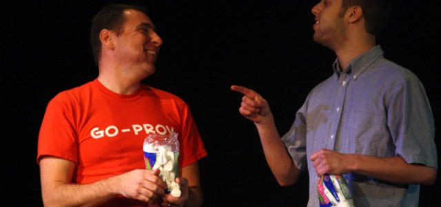 GoProv comedy troupe entertains GC crowd