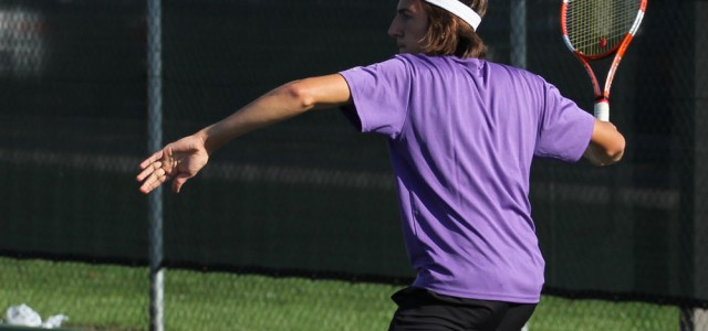 Men's tennis nears end of season