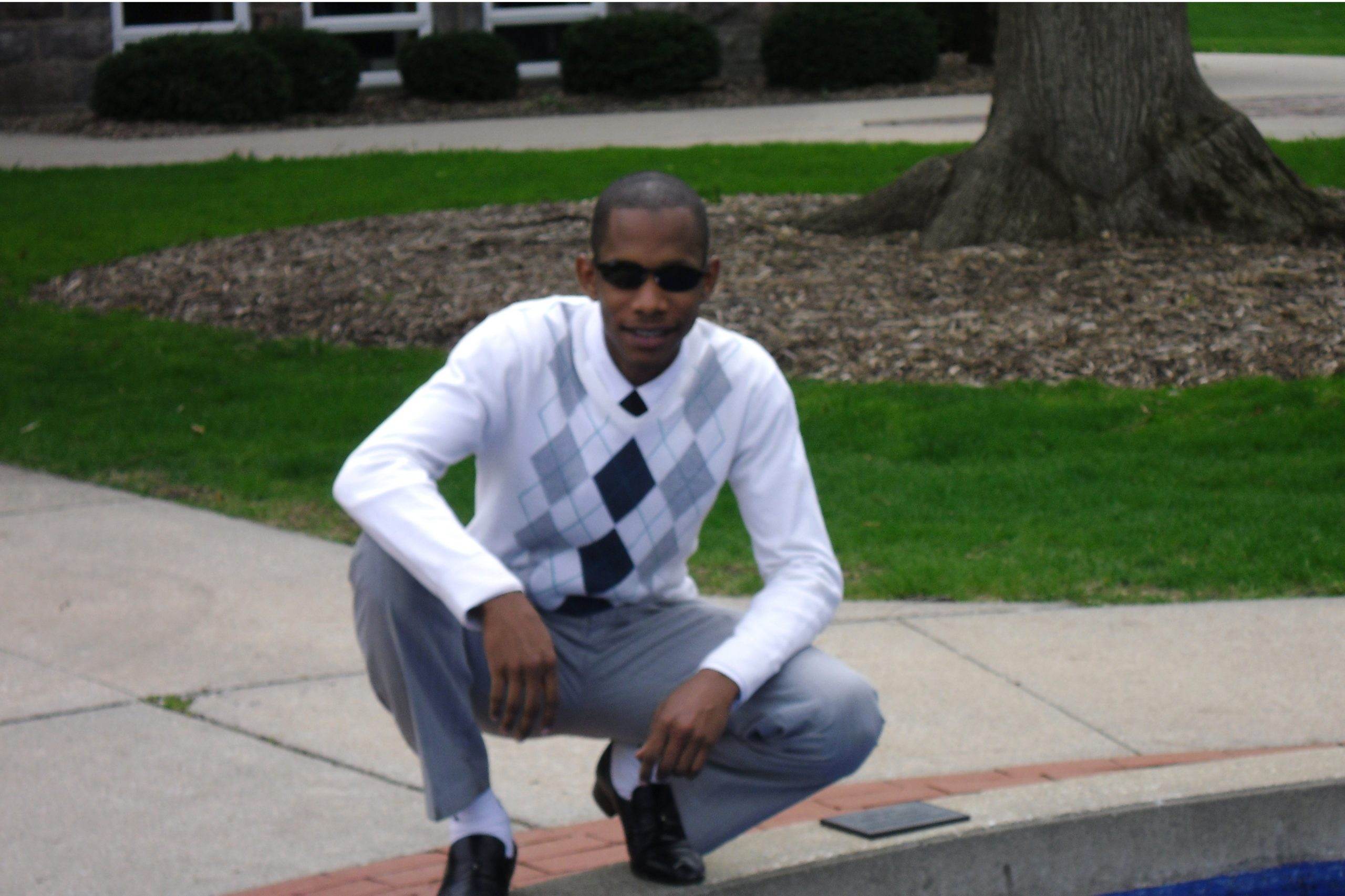 Photo of Mohamed Meissara on campus