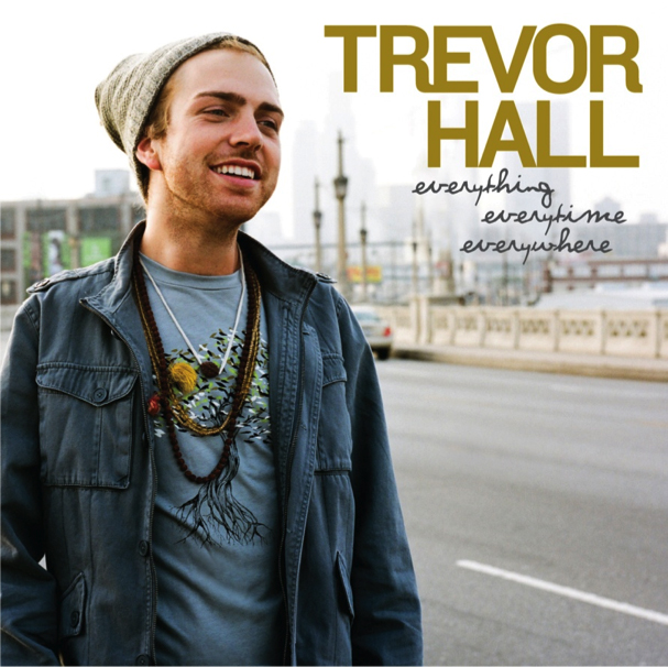 "Album cover for Trevor Hall's ""Everything Everytime Everywhere"""