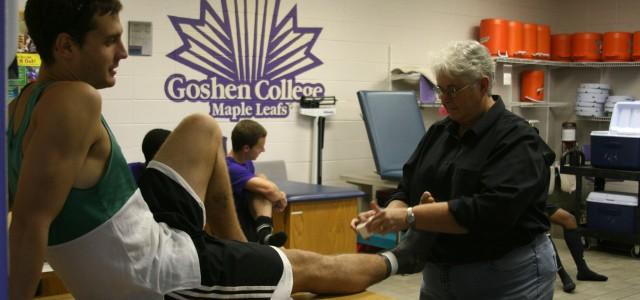 Goshen College's Linda Kaminskis named to IATA hall of fame