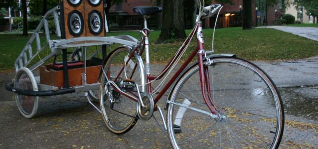 Bike-friendly surround sound
