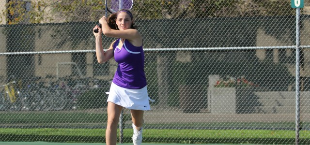 Women's tennis finishes season