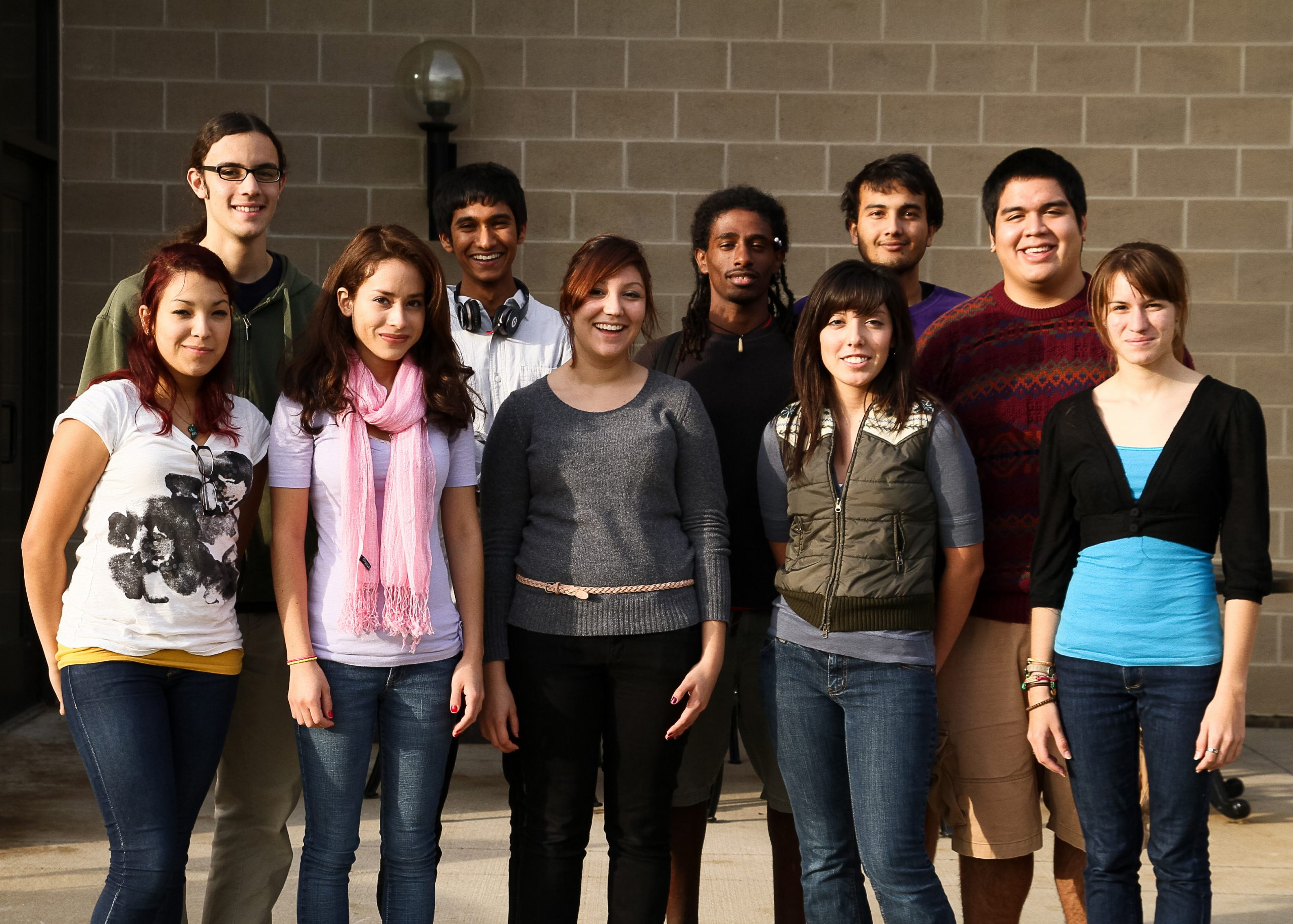 students involved in the DREAM act