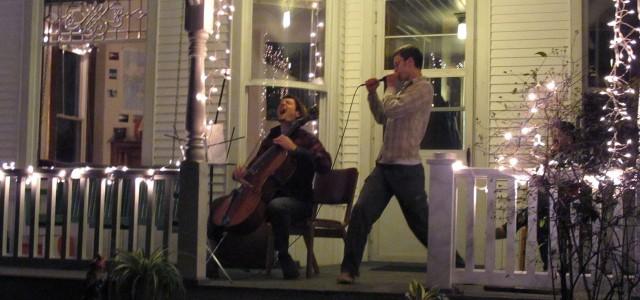 "Musicians transform Kenwood porch into ""Porchapalooza"""