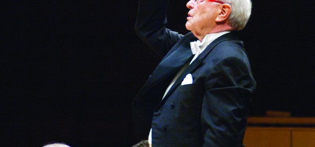 Maestro George leads GC choirs and Toledo Orchestra