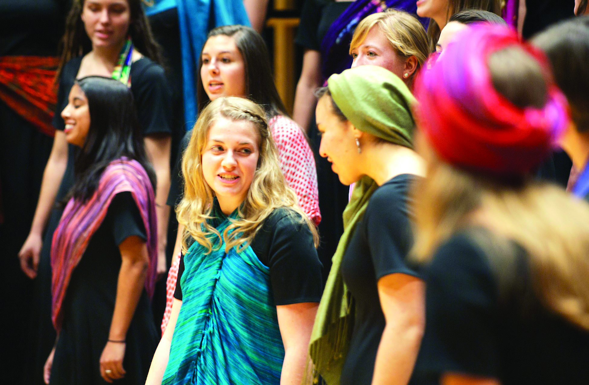 Voices of the Earth performs in Sauder Concert Hall