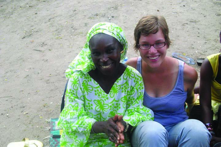 Andrea in Senegal