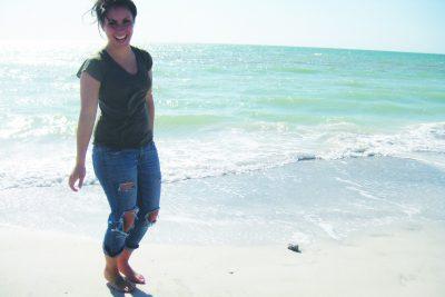 Lehman on the beach