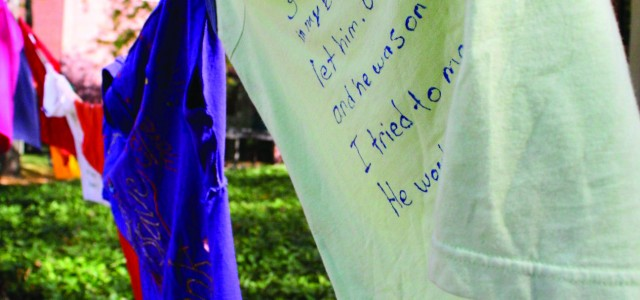 Sexual Violence Awareness Week raises shirts and consciousness