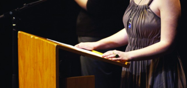 Treiber wins bi-national peace oratorical contest