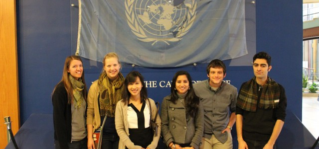 Students travel to Big Apple for UN seminar