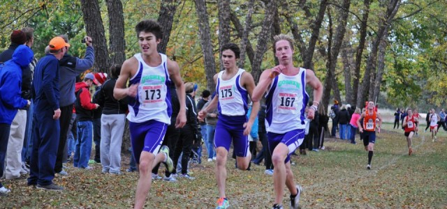 Men's Cross Country rewrites record book at Benedictine Invitational