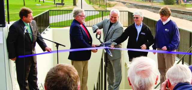 Underpass open after months of construction, years of planning