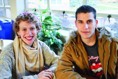 Vasti Rosado and Sammy Rosario smile for the camera