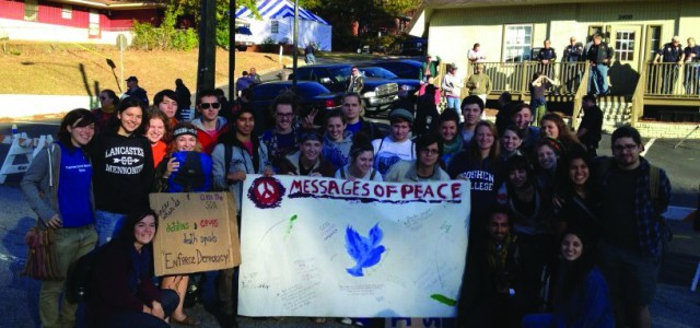 40 students join hundreds in Georgia for SOA Watch protest